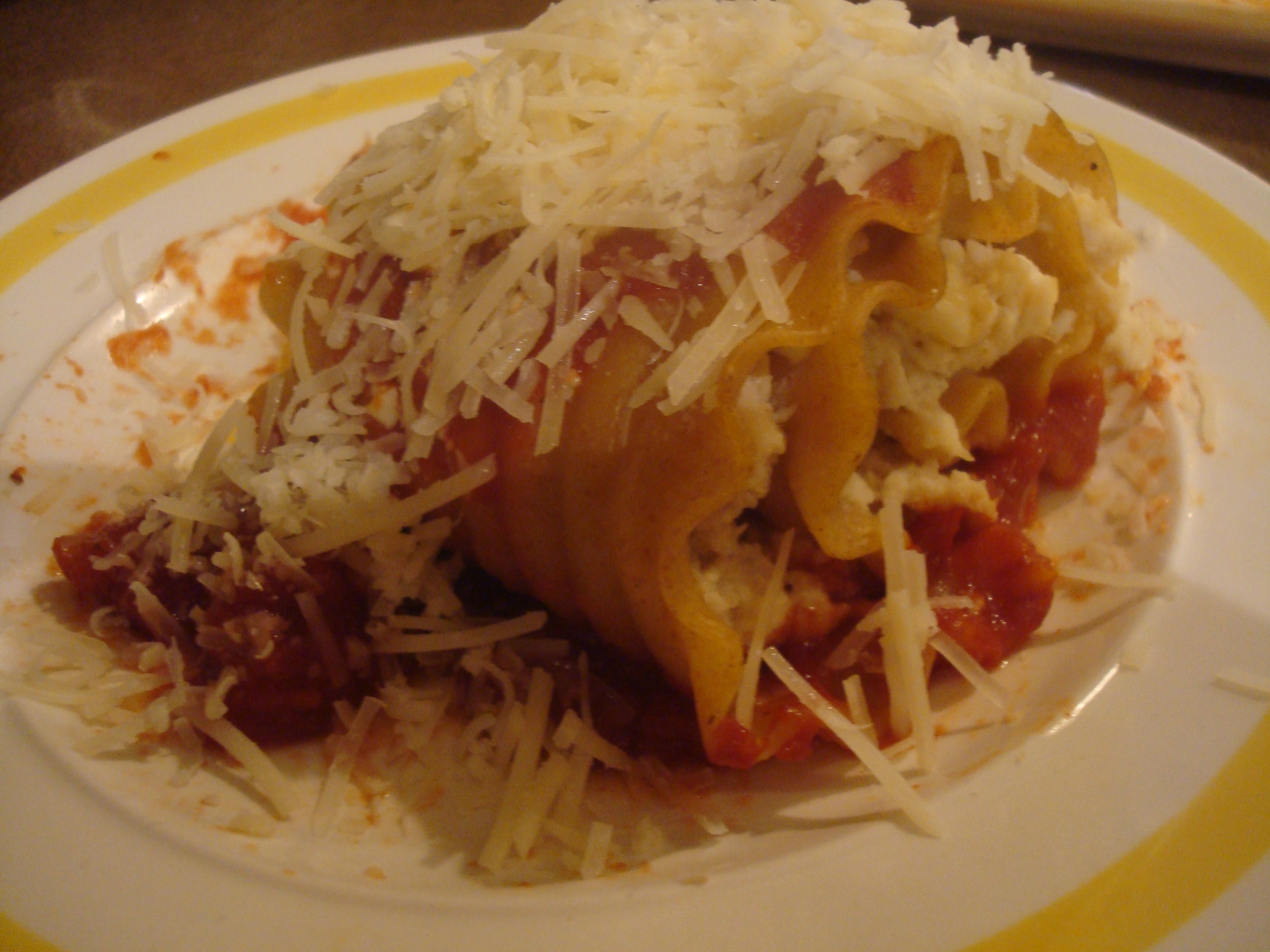 Chicken and Cheese Lasagna Roll-ups | Musings of a ...